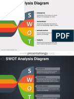 SWOT Diagram Twisted Banners PGo