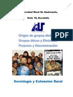 Origen de grupos étnicos