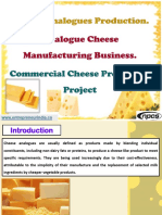 Cheese Analogues Production