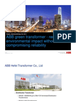 ABB Green Transformer - Reducing Environmental Impact Without Compromising Reliability (en)