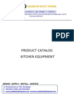 Mzm -- General Cataloq Kitchen Equipment