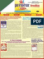 January 2019 Entrepreneur India Monthly Magazine