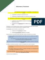 Relaciones y Funciones Definicion y Elementos