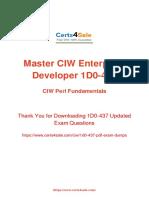 2019 Updated 1D0-437 Exam Dumps - CIW Web Development Exam Questions PDF.pdf