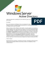 Instalação Do Active Directory Passo a Passo Do Windows Server 2012