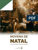 SANTO AFONSO MARIA LIGÓRIO NOVENA DE NATAL