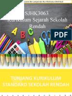 Tunjang dan matlamat kurikulum Sejarah.pptx