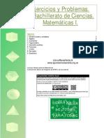 Ejercicios de matemáticas de primero de bachillerato