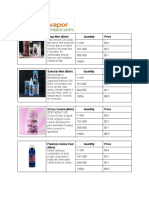 Juice List