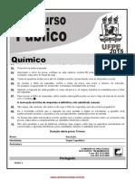 Prova Quimico concurso da UFPE