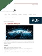 Les Types Des Attaques _ Réseaux Informatiques