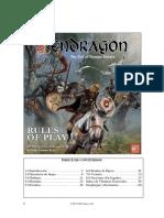 Pendragon Spanish Rulebook Rev