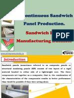 Discontinuous Sandwich Panel Production