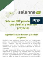 Selenne ERP para Ingenierías que diseñan y realizan proyectos