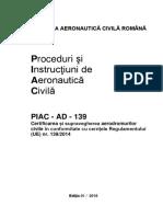 PIAC-AD-139 Ed 1-2018