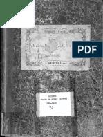 Libro de fondo de Almas (Misas) 1848-1929