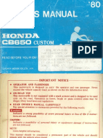 [HONDA] Manual de Taller Catalogo de Piezas Honda C105 BIZ