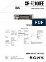 XRF5100 Radio Sony