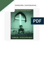 Arhim. Ioanichie Bălan - Versuri Duhovnicești