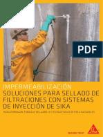 Sistemas Inyeccion - Sellado e impermeabilización Sika Injection