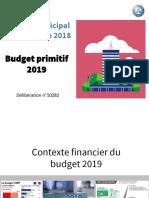 Budget Primitif 2019