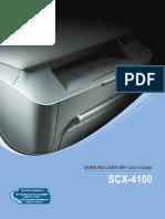 Scx 4100 English