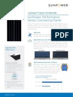 Ds Sunpower Performance Panels p19 Com 1kv Au