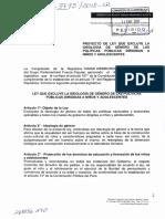 Proyecto de Ley  03795 - Autora Tamar Arimborgo