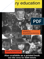[Anna Craft] Primary Education Assessing and Plan(BookFi)
