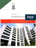 Cemento CPO 30 R B