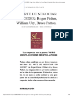 El Arte de Negociar Sin Ceder_ Roger Fisher, William Ury, Bruce Patton