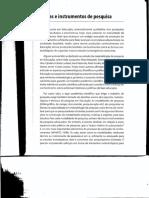 Metodologia - Técnicas e Instrumentos de Pesquisa