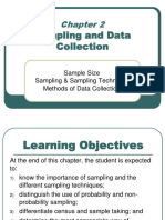 Chapter 2 Sampling and Data Collection