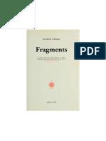 Fragments Friedrich Schlegel