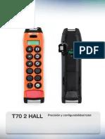 Transmisor T70 2 HALL