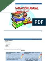 PROGRAMACIÓN ANUAL 5° - 2016.docx