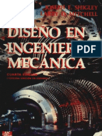 Diseño de La Ingenieria Mecanica Joseph e. Shigley 4