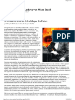 A Verdadeira Doutrina Defendida Por Karl Marx - ILM Brasil 31.08.2012