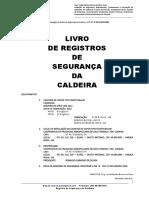 Livro de Registro de Serviços de Segurança Da Caldeira BRS Modelo FH_UNISOLDAS_Coopag_Povoado de Giló_Varzea Nova_9 e 10 Jan_2019