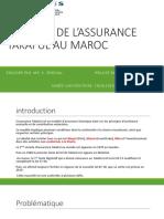 Les Defis Du Takaful Au Maroc 1