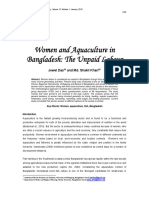 Women and Aquaculture in Bangladesh