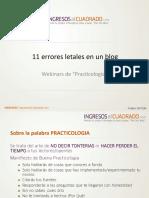 20120425_Ingresos2 11 Errores Letales en Un Blog