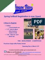 CVLL Flyer Spring 2019