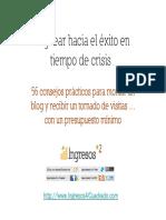 Bloguear Hacia El Exito en Tiempos de Crisis