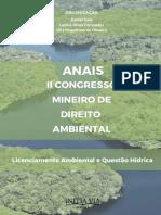 Anais II Congresso Mineiro de Direito Ambiental
