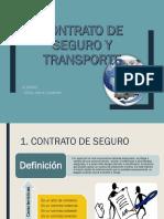 Contrato de Seguro y Transporte PPT