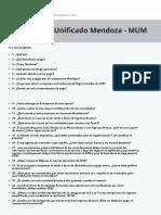Mono Tribu to Uni Fica Do Mendoza
