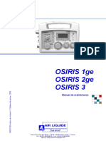 Taema Osiris Ventilator - Service Manual (Fr)