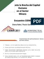 Lanzamiento Oficial Del Primer Congreso Internacional de Estudiantes e Minería – CIEMIN 01.09