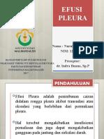 Referat PARU - Efusi Pleura